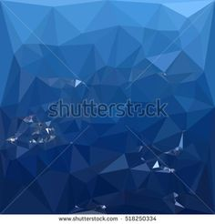 Low polygon style illustration of a french sky blue abstract geometric background. #abstractbackground #lowpolygon #illlustration