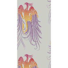 Phoenix - Silver Lee Jofa Fabric 82-1002-CS Cole & Son Indoor Wallcovering