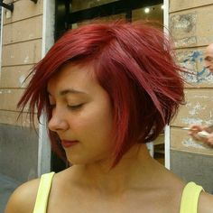 #redhair #short #shorthair #piombato #carrè