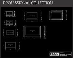 Размеры телевизоров Professional Collection