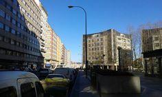 Día de sol y sin viento en A Coruña!