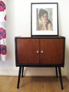Vintage Record Cabinet/Sideboard