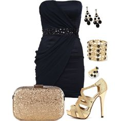 A fashion look from January 2013 featuring AX Paris dresses, Charlotte Russe shoes and Oasis clutches. Browse and shop related looks.