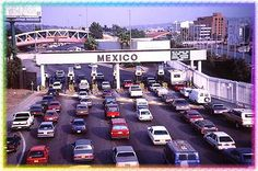 I've crossed into Mexico at Calexico but never at the Tijuana crossing. Places In Usa, Great Places, Places Ive Been, Places To Go, Baja California Mexico, Rosarito, San Diego Travel, San Diego Houses, Travel Tours