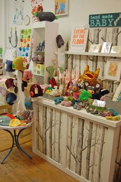 gorgeous shop display | Portland, Maine