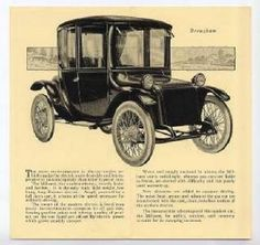 1918 Milburn Model 27 Brougham brochure/ad
