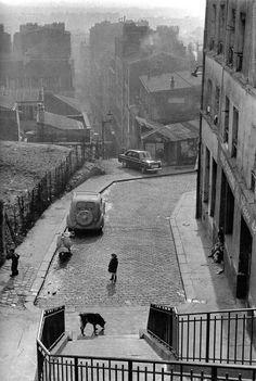 Ménilmontant - Paris 1956 - Edouard Boubat