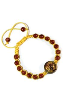 Goldstone Boho Bracelet Bracelet by MaKatarinaCorner   #bohobracelet , #bohojewelry , #shamballabracelet , #rainbowbracelet , #floralbracelet , #goldstonebracelet #macramebracelet , #wrapbracelet ,#treeoflife,#treeoflifebracelet