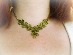 My wedding green necklace <3