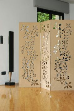 Designer Screens / movable partitions/ divider, Mdf design