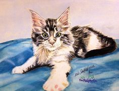 Commission PORTRAITS OF YOUR PETS & artist will donate the proceeds to the worthy RALPH site.