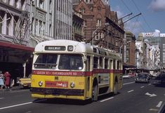 Auckland, Trolley Bus, Vintage Image
