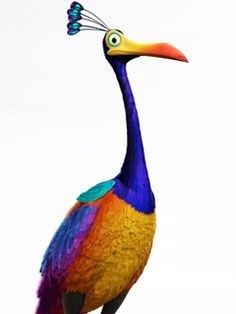 Up on Pinterest | Pixar, 3d Character and Up Pixar Kevin Up Bird Noise