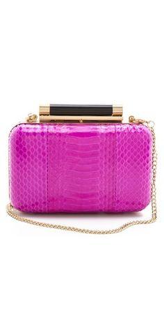 Diane von Furstenberg Tonda Watersnake #Awesome Handbags