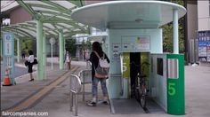 """I've always been fascinated with this parking system for both bicycles and cars. Such an ingenious way to make the most of a small footprint. - """"On scaling bike parking space in Tokyo by going underground"""""""