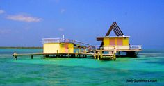 A frame house in Stiltsville... My Uncle dave's house is one of 9 still remaining after all the hurricanes and storms... Good ole' Stahl family luck!!