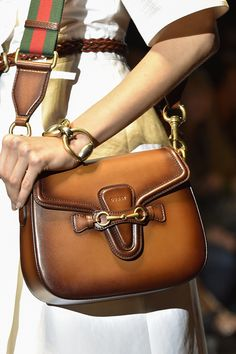 Looking to downsize? No problem. Gucci and Givenchy's compact saddle bags will do just the trick. | styloko.com