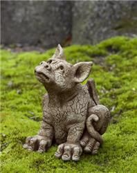 Gargoyle Friendly Concrete Garden Statue Gothic Cement Figure