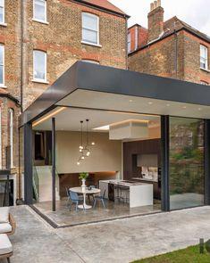 Sliding Door Design, Sliding Door Systems, Sliding Glass Door, Sliding Doors, Glass Doors, House Extension Plans, House Extension Design, Glass Extension, Lounge Design