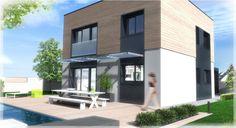 Maison pandora toit-terrasse