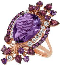 LeVian LE VIAN Multicolor Amethyst Ring