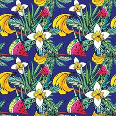 ponxa_ Hello everybody! Here's my awesome, sexy, juicy Summer illustrations kit!  www.holaponxa.com . #illustration #commerciallicense  #patterns #summer #textildesign #surfacedesign #surfacedesigner #cool #colors #flowers #tropical #fruit #instagood #handmade #instadrawing #fineart #artinstagram #happy #surfacespatterns