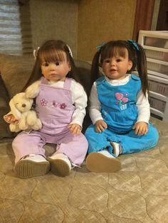 Chloe and Skylar reborn toddlers