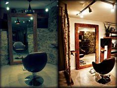 372 best Home Hair Salon Ideas images on Pinterest   Barber salon ...