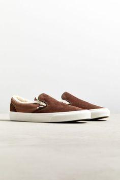 42d6a3343f Vans Classic Sherpa Slip-On Sneaker