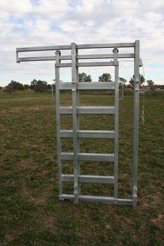Cattle Yard Slide Gate