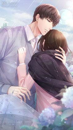 ★SR★ Lucien: Heart's Desire >> Evolved - Entertainment Couple Anime Manga, Anime Cupples, Anime Love Couple, Anime Kawaii, Anime Love Story, Manga Love, Handsome Anime Guys, Cute Anime Guys, Anime Couple Romantique