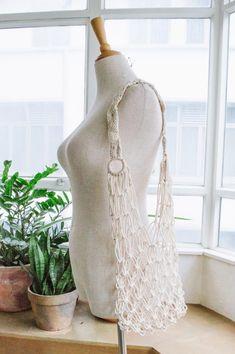 A Pair & A Spare   DIY Macramé Bag (Our Second Version!)