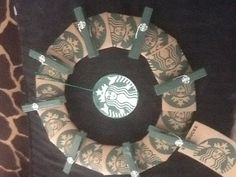 Starbucks sleeve wreath ex.2