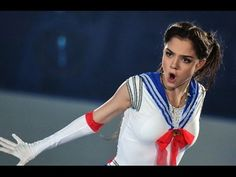 This Impressive Figure Skater Might Actually Be the Real-Life Sailor Moon