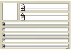Zum ausführlichen Üben von Buchstaben und Ziffern habe ich diese beiden Universalarbeitsblätter erstellt. Buchstabe oder Zahl können in dem... Teaching First Grade, Teaching Aids, Elementary Science, Elementary Schools, Teacher Office, Abc For Kids, Learn German, School Pictures, Letters And Numbers