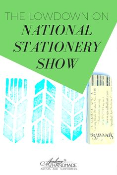 The National Stationery Show (NSS) is THE trade show for the paper industry. What is NSS Like for Makers? #ahasmembers Robin Soltis and Shifting Status Kuo share!