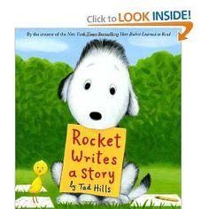 Rocket Writes a Story: Tad Hills