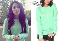 Jasmine Villegas: Mint Green 'Crooks' Sweater