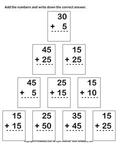 1000 images about elementary math computation on pinterest addition worksheets worksheets. Black Bedroom Furniture Sets. Home Design Ideas