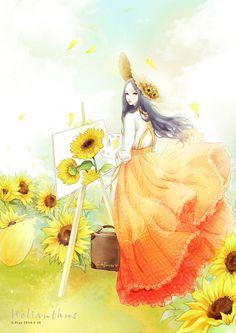 E. Pcat - 'Sunflower'.