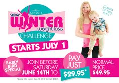 Special Discount On Winter Challenge Ending 14th June