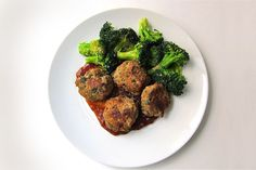Cilantro & Scallion Turkey Meatballs With Teriyaki