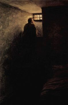 Nikolai Alexandrovich Yaroshenko -  The Prisoner, 1878