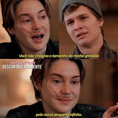 A Culpa é das Estrelas Series Movies, Film Movie, Movies And Tv Shows, John Green, Tfios, The Best Films, Romantic Movies, The Fault In Our Stars, Movie Quotes