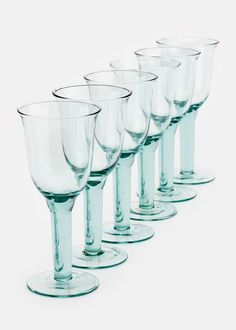 Recycled Glass Red Wine Goblets | Rodale's