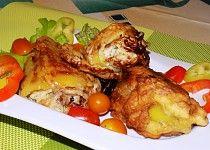 Smažené papriky plněné balkánským sýrem Meat, Chicken, Food, Red Peppers, Essen, Meals, Yemek, Eten, Cubs