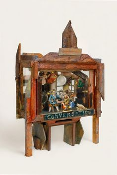 Janice Lowry: Early Assemblage Piece