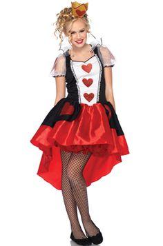 Wonderland Queen Teen Costume #Halloween #costumes #aliceinwonderland