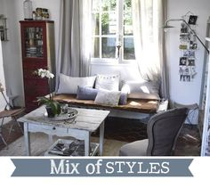 Home Shabby Home: Mix of styles