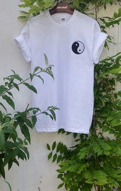 Ying Yang Acid Tumblr Shirt grunge indie by SpacyShirts on Etsy